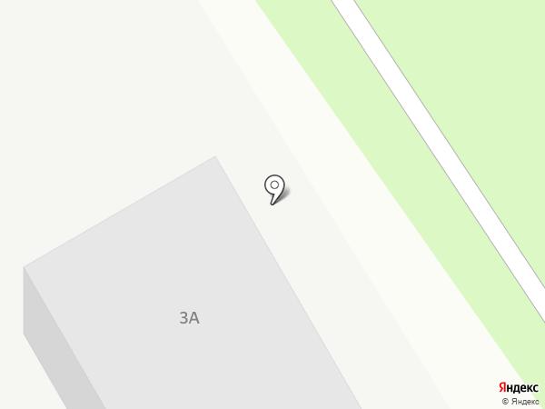 БОРское стекло на карте Берёзовского