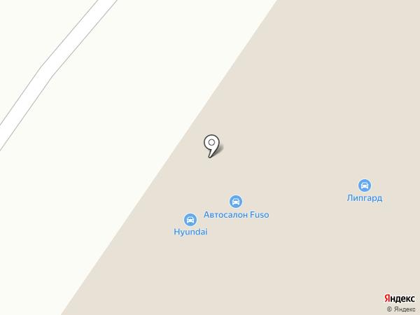 ТРАК-ЦЕНТР на карте Берёзовского