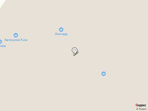 Планета Авто на карте Берёзовского