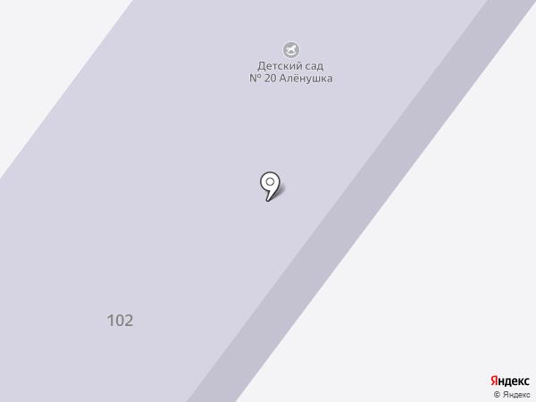 Детский сад №20 на карте Патруш