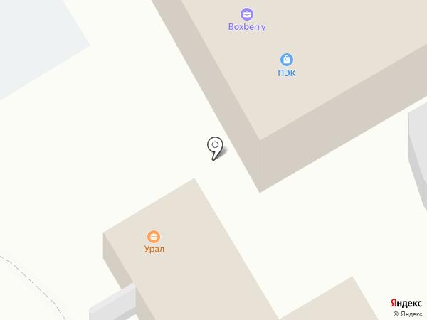 Магазин по продаже фастфудной продукции на карте Берёзовского