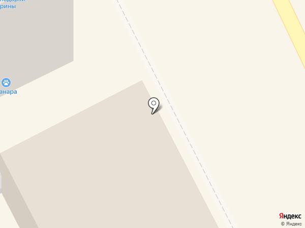 Быстрый Лось на карте Берёзовского