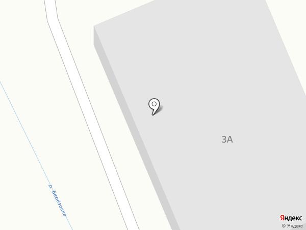 ТРАНС-ИНКАМ на карте Берёзовского