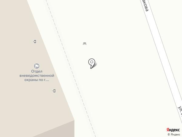 Отдел вневедомственной охраны по г. Берёзовскому на карте Берёзовского