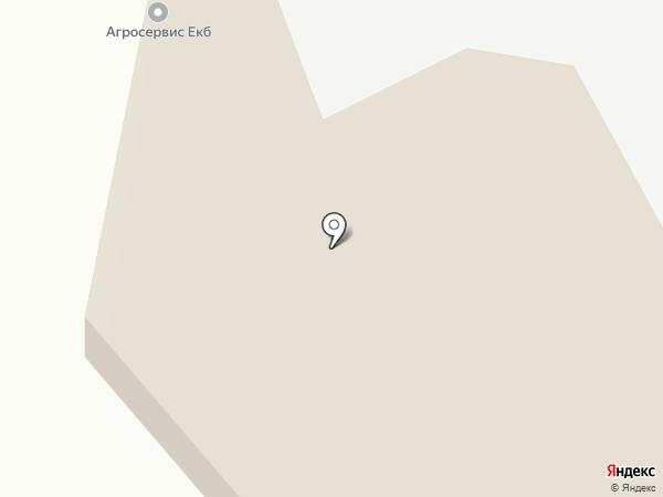 Мясной №5 на карте Берёзовского