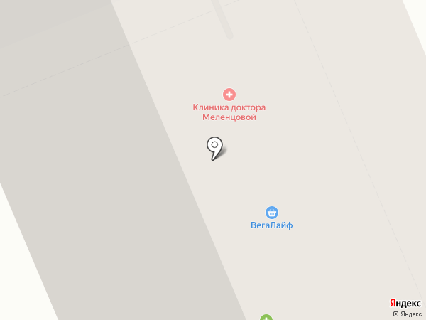 Клиника для детей Доктора Меленцовой на карте Берёзовского