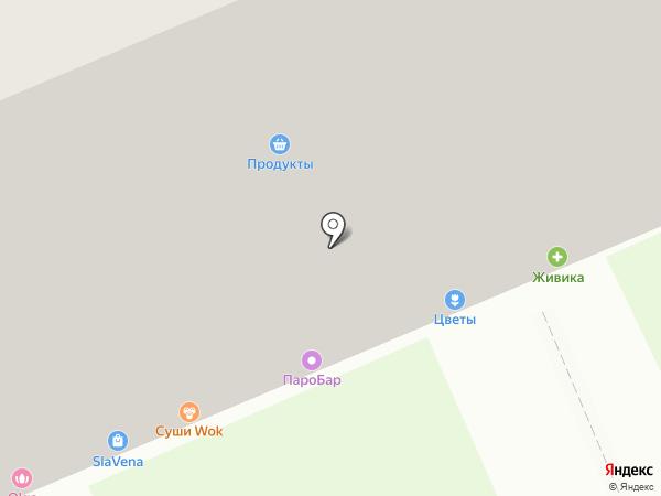 Равис-птицефабрика Сосновская на карте Берёзовского