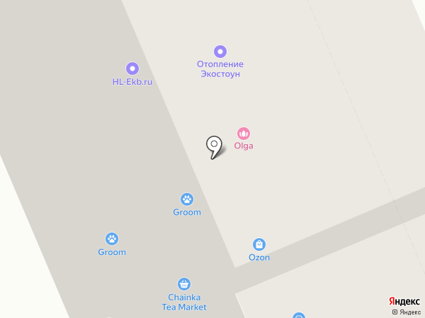 Activ на карте Берёзовского