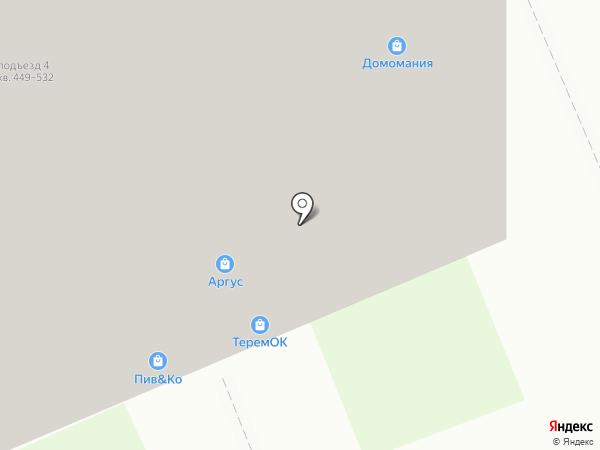 ТеремОК на карте Берёзовского