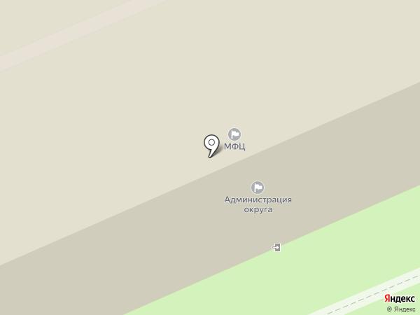Березовский центр муниципальных услуг на карте Берёзовского