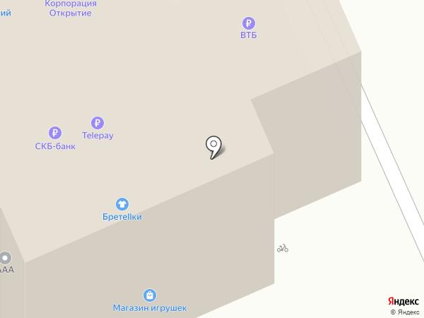 Банкомат, Банк ВТБ 24, ПАО на карте Берёзовского