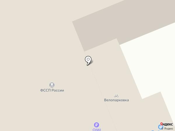 Отдел Управления Федеральной службы судебных приставов на карте Берёзовского