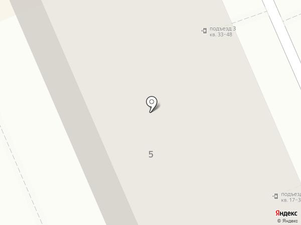 Жасмин на карте Берёзовского