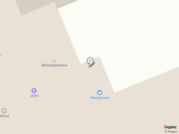 Аквамарин на карте Берёзовского