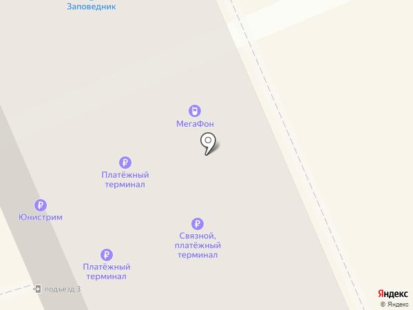 Заповедник на карте Берёзовского