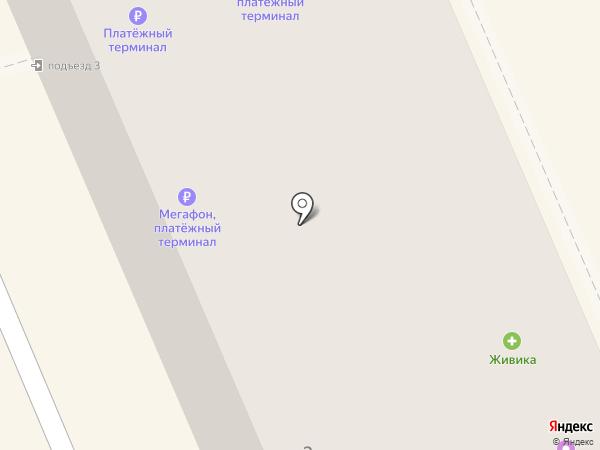 Норман на карте Берёзовского