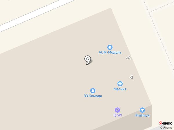 Profmax на карте Берёзовского