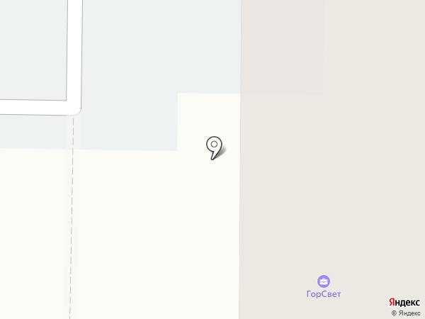 Горсвет, ЗАО на карте Берёзовского