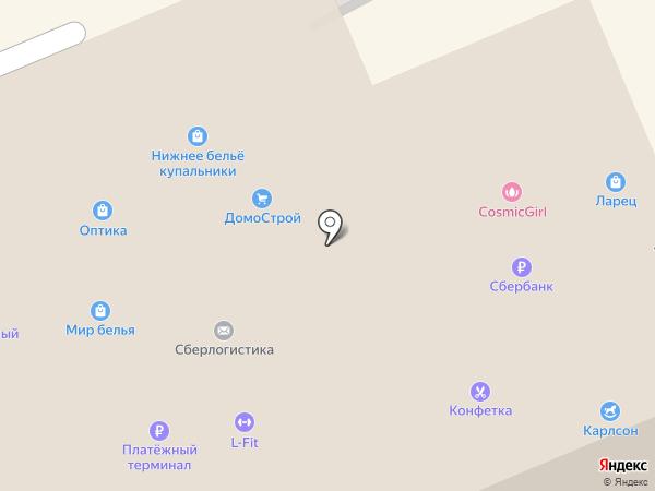 Верещагинский Трикотаж на карте Берёзовского