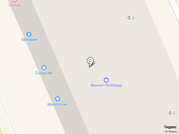 Le mar на карте Берёзовского