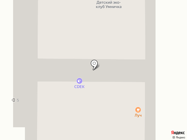 Теплый пол на карте Берёзовского