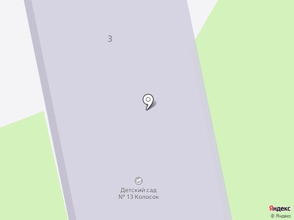 Детский сад №13 на карте Октябрьского