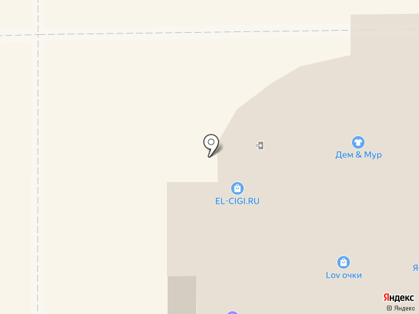 Салон оптики на карте Берёзовского