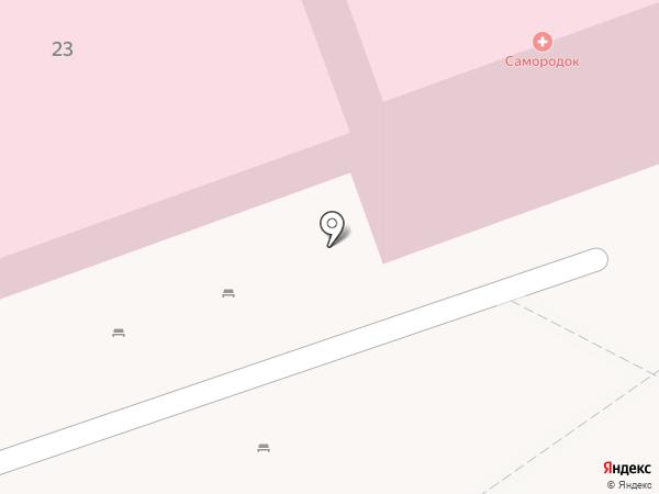 Самородок на карте Берёзовского