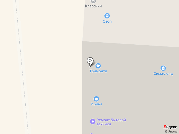 ЭкоМебель на карте Арамиля