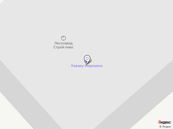 Лесозавод Строй Плюс на карте Арамиля