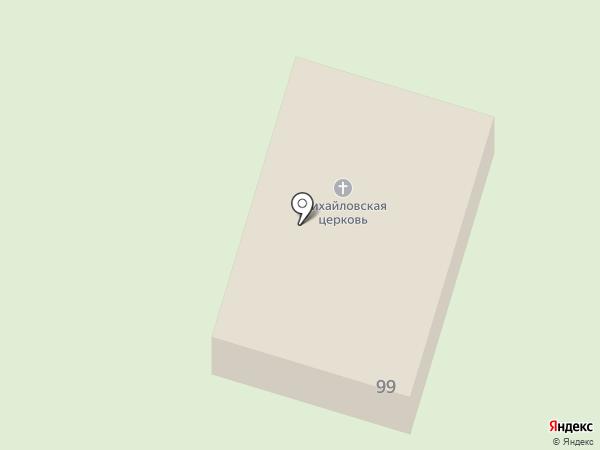 Храм во имя Архангела Михаила на карте Старопышминска