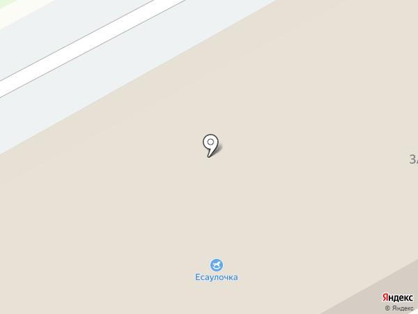 Есаулочка на карте Есаульского