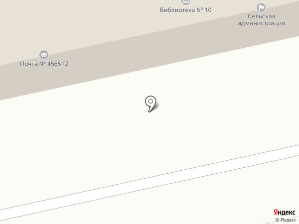 Почтовое отделение №512 на карте Красного Поля