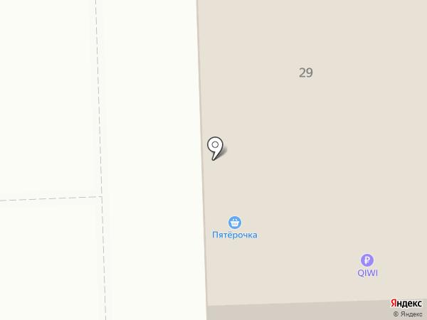 Пятерочка на карте Саргазов