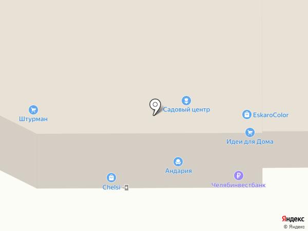 Фасад-Центр на карте Челябинска