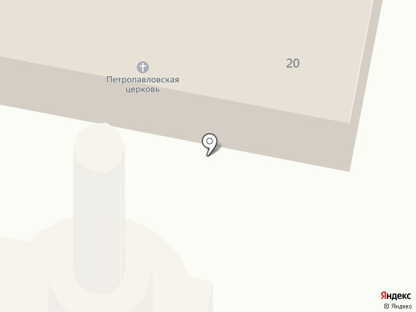 Храм Святых апостолов Петра и Павла на карте Челябинска