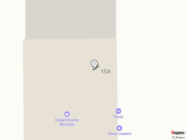 ПятьЗвезд на карте Челябинска