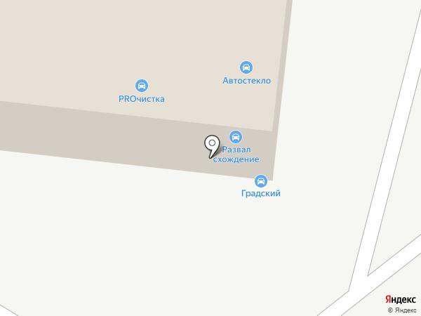 Градский на карте Челябинска
