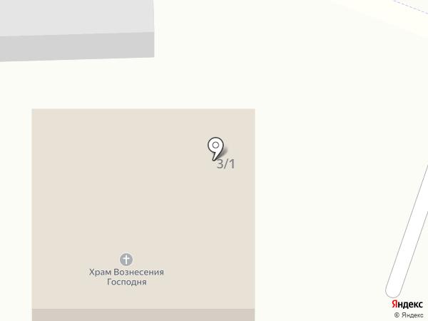 Храм Вознесения Господня на карте Западного
