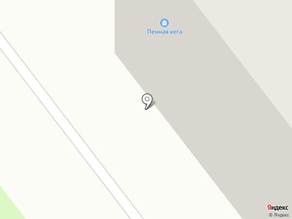 Пенная кега на карте Челябинска