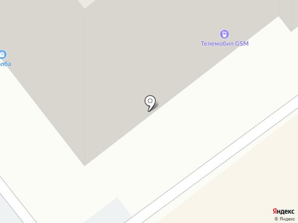Афродита на карте Челябинска