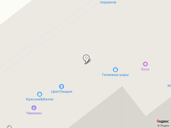 Магазин автозапчастей на карте Челябинска