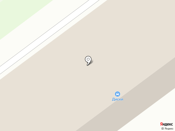 Магазин автотоваров на карте Челябинска