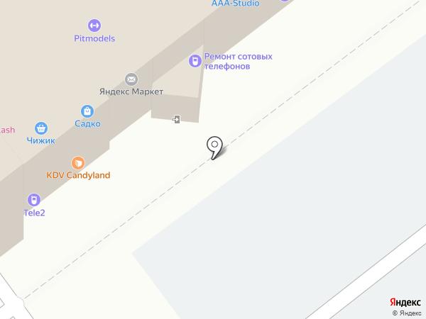 Ателье на карте Челябинска