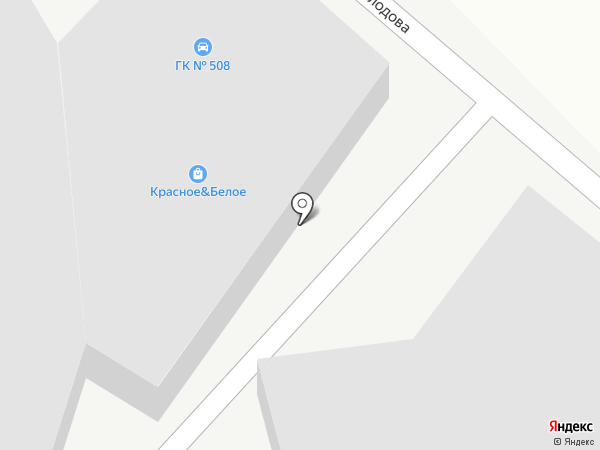У-РАЛ на карте Челябинска