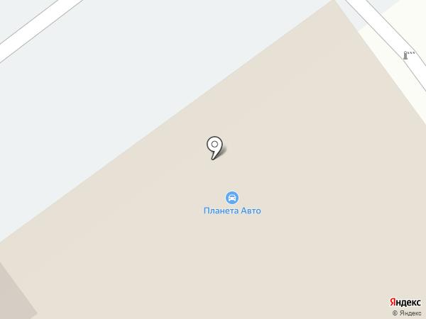 Планета Авто на карте Челябинска