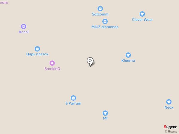 Extra fresh на карте Челябинска