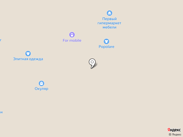 Еврочехол на карте Челябинска