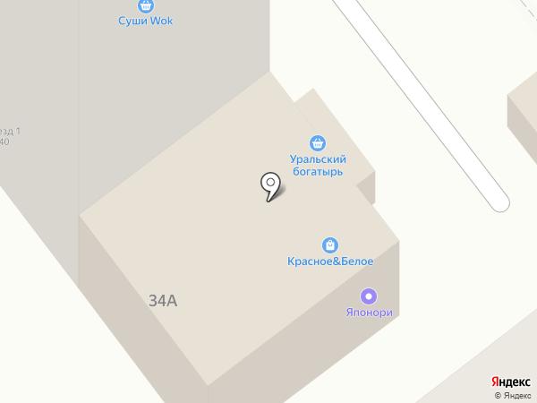 ОСНОВА на карте Челябинска
