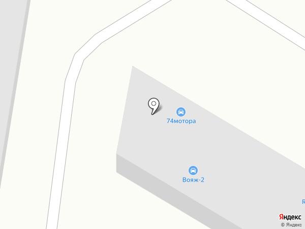 Автокомплекс на карте Челябинска